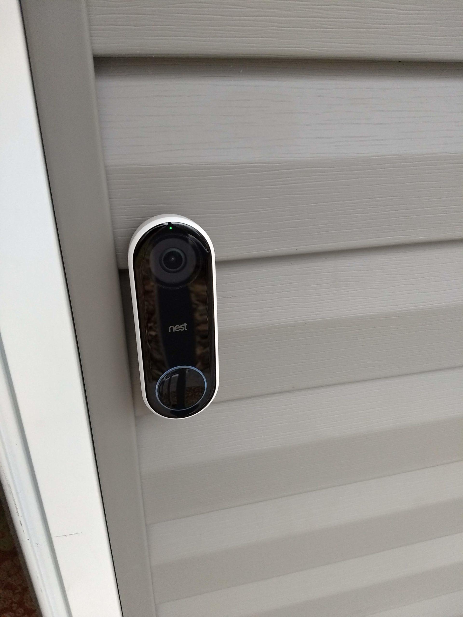 Nest Hello Video Doorbell Installation